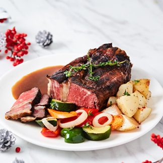 Australian Grain Fed Beef Striploin Slow Roasted with 7 Spices